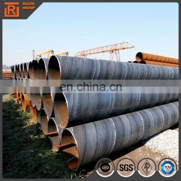 Oil and gas ssaw spiral line Pipe/API-5L oil and gas pipeline Q235 Q345 spiral steel pipe pile