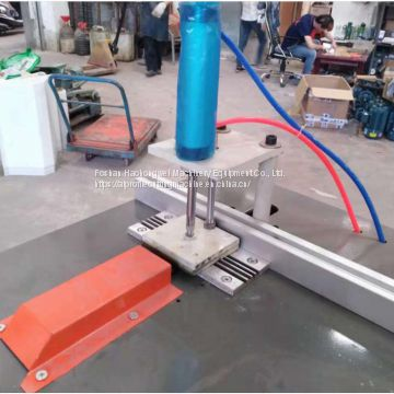 Frame blocker Fully automatic aluminum cutting machine Automatic loading and unloading cutting machine