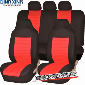 DinnXinn Nissan 9 pcs full set Jacquard neoprene car seat cover trading China