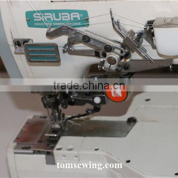 reconditioned Second hand used cylinder bed interlock C007j siruba industrial sewing machine