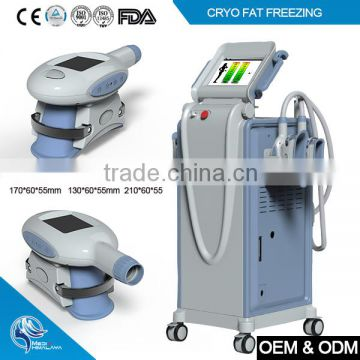 Unique soft silicone handpieces cryotherapy equipment