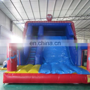 2017 Aier new design spiderman inflatable water slide /commercial inflatable slide for sale