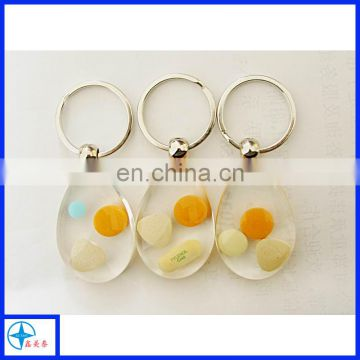 transparent-resin-key ring-key chain