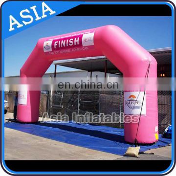 Customized Advertising Used Inflatable Arch With Logo Finish Start Line Arch