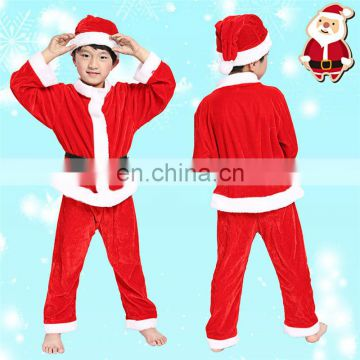 Boy and Girl Long Sleeve Christmas Costumes for Christmas Show