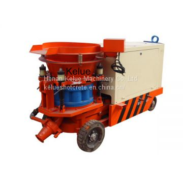 Mine Support dry and wet concrete gunite sprayer