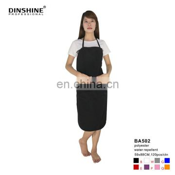 2017 good sell high quality durable fashion polyester salon tablier apron