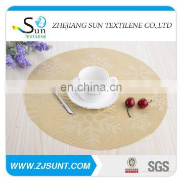 Hot sale snow PVC coaster made in China