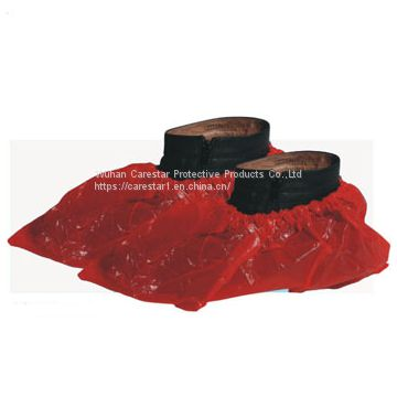 China manufacturer waterproof CPE plastic rain shoes cover