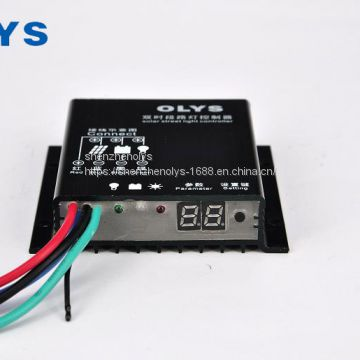 OLYS factory direct, dual time solar charge controller, solar street light controller