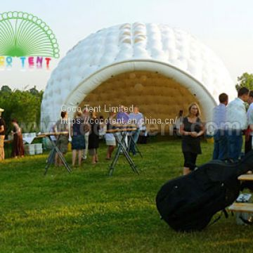 White Inflatable Event Domes Party Tent with Windows