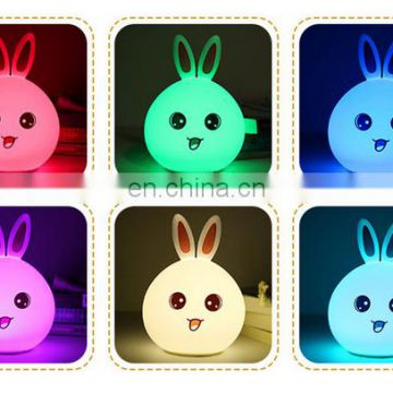 7 Color Changing LED Night Light Bedroom Desk Table lamp For Kids