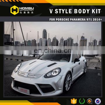 panamera 971 New 2016 Bumper Kits Front Bumper And Rear Bumper bodykit for porsch panamera 971 2014+