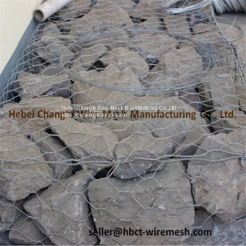 Retaining Stone Gabion Wall  Welded Gabion Baskets For Vertical Noise Barrier