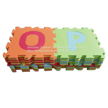 QT MAT Alphabets Kids Educational Toy Foam Play EVA Puzzle Mat