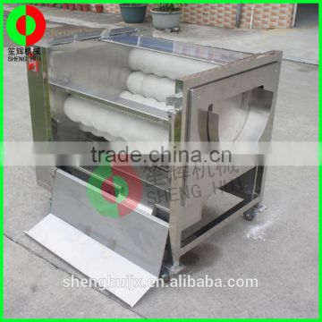 Large brush peeling machine multifunction vegetable washer automatic root vegetable peeling machine
