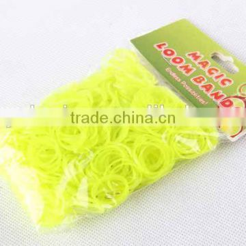 600PC Hair Band With 24 Buckles/Colorful RUBBER BAND