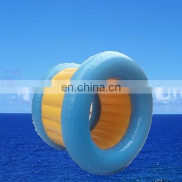 air-tight inflatable water roller game