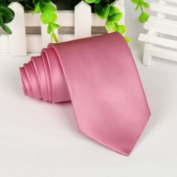 Extra Long Adult Silk Woven Neckties Plain Silver