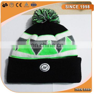 High Standard 100% acrylic beanie hat wholesale Factory price Beanie hat fashion embroidery knit beanie