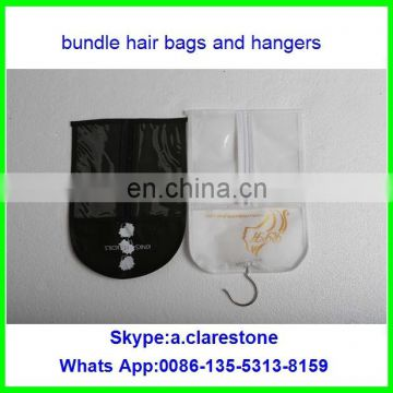 2016 Hot China Gold Supplier Hair Products ! Unprocessed Brazilian Virgin Human Hair extension bag with hangers
