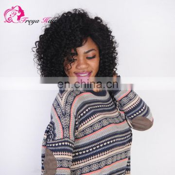 Freya Hair Premium Quality Afro Kinky Curly wig human hair