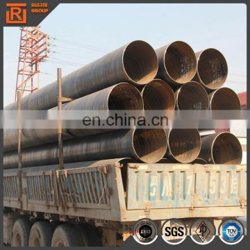 API 5L steel pipes schedule 40 ssaw spiral welded pipe water line pipe