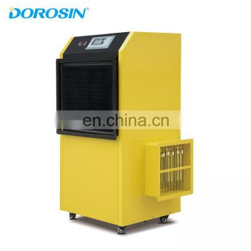 108 liters per day Drying dehumidifier with hot air outlet of heating pump dehumdiifer for egg tray