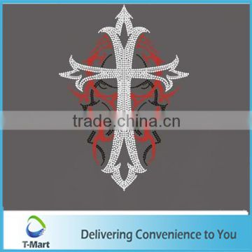 decorative rhinestone cross transfer