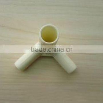 High quality plastic molded tent connector/plastic 3 way tent connector