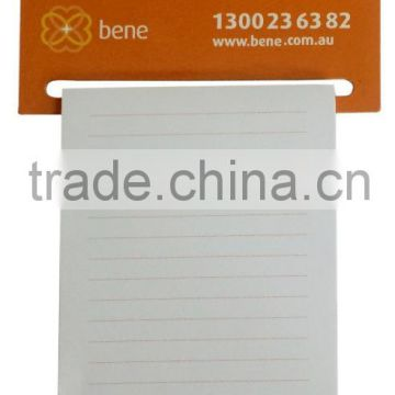 superior quality promotional advertising magnetic memo pad Colorful souvenir magnetic note pad