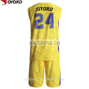 2017 new design basketball uniform