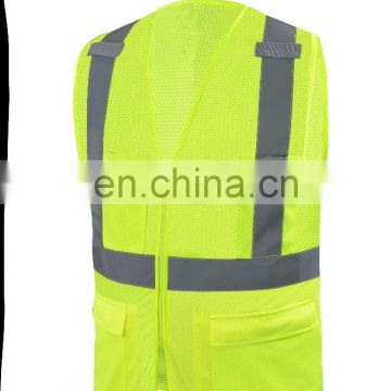 high visibility safety clothing safety vest