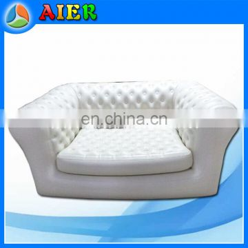 Hot sale Double seat inflatable furniture inflatable sofa for sale