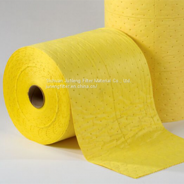 chemical liquid absorbent pad