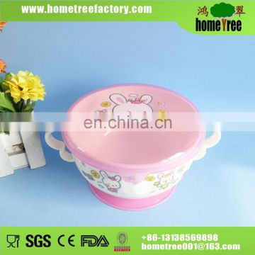BPA free Plastic baby product bowl Anti-skidding Bowl for kid