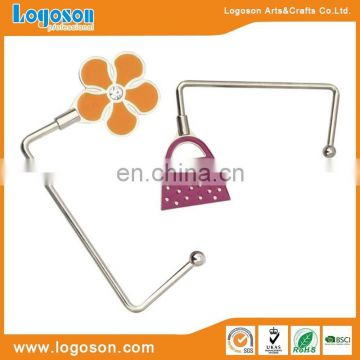 Metal purse hook premium gift bag holder