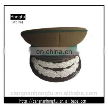 high quality two strips oka leave Embroidered military hats