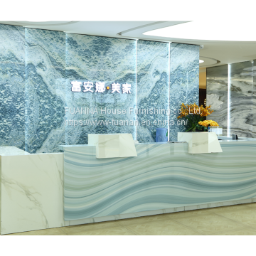 3D Digital High Gloss UV Wall Panel