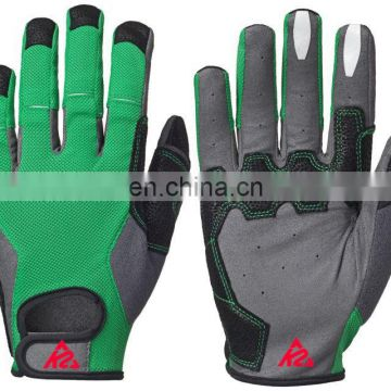 Cycle Gloves Full Fingre green