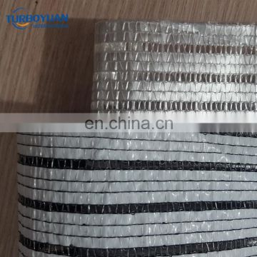 aluminum shade cloth / silver reflective shade netting made in China