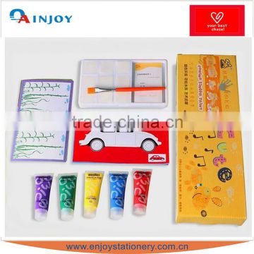 Children's educational DIY toys finger painting pigment Non-toxic water to wash painting graffiti gifts sets
