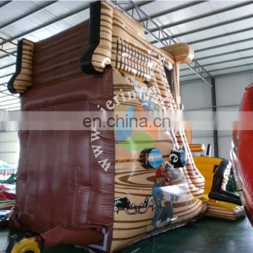 amusing inflatable pirate ship inflatable slide for kids children