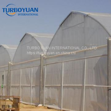 mini greenhouse plastic cover / double layer plastic film greenhouse