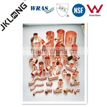 J9017 1/2'' factory price copper pipe fittings, copper tube strip with UPC,NSF certificate for plumbing