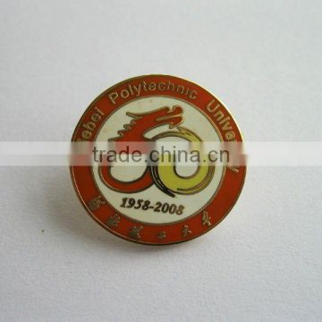 metal badge with refilled 4C