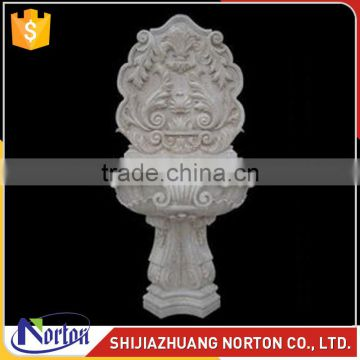 Europen hand carved marble sink for decoration NTS-004LI