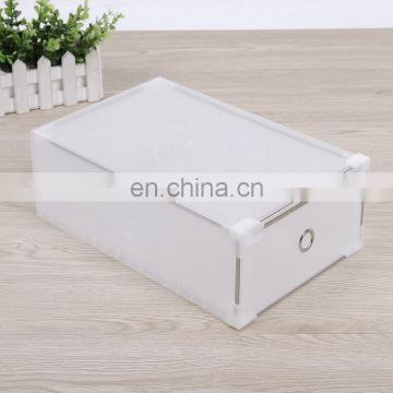 clear plastic drawer shoe box