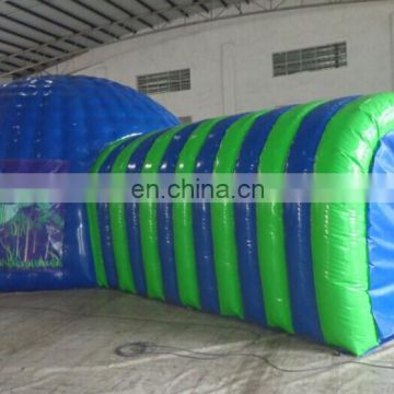 Customzied air tight inflatable tunnel tent