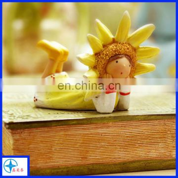 resin most popular yellow angel figure